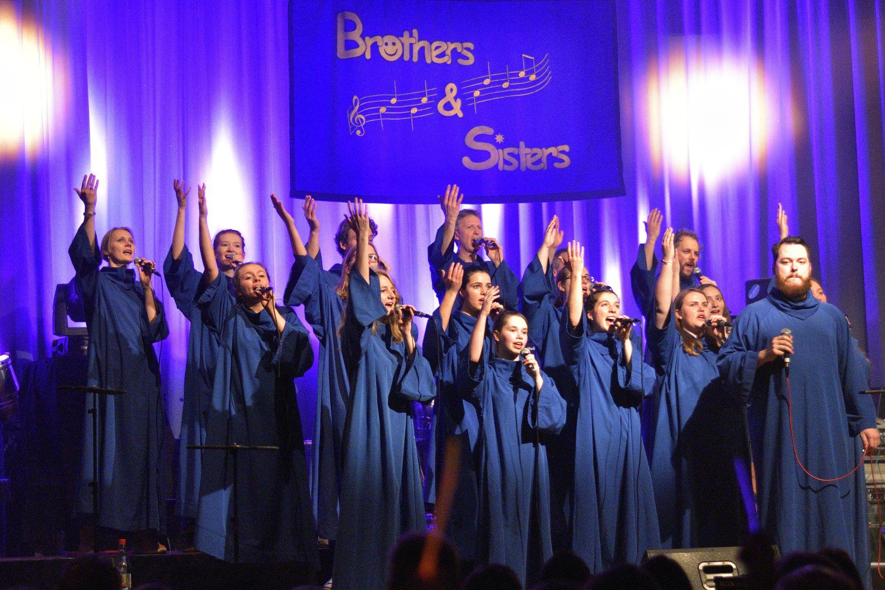 Brothers and Sisters Gospelchor Wehrheim Weihnachtskonzert 2019 im Bürgerhaus Wehrheim